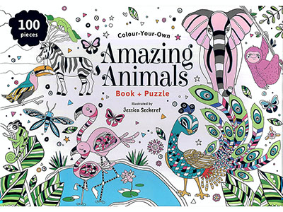 COLOUR YOUR OWN AMAZ ANIMALS