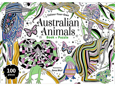 COLOUR YOUR OWN AUST ANIMALS