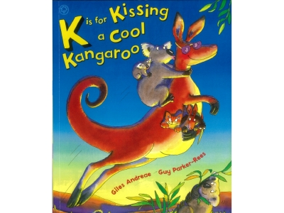 K IS FOR KISSING A COOL KANGAR