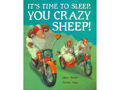 IT'S TIME TO SLEEP CRAZY SHEEP