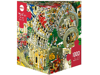 CRISP, PISA IN MOTION 1000pc