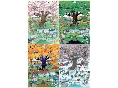 BLACHON, 4 SEASONS 2000pc