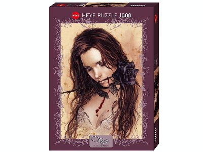 FAVOLE, DARK ROSE 1000pc