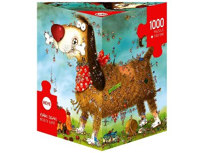 DEGANO, DOG'S LIFE 1000pc
