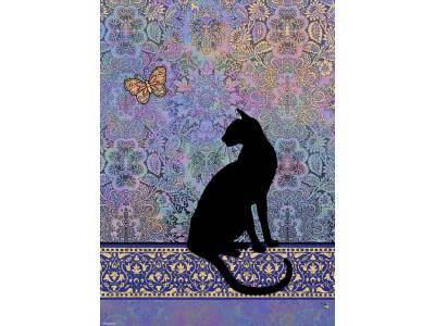 CATS, SILHOUETTE 1000pc