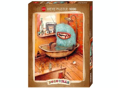 ZOZOVILLE, BATHTUB 1000pc