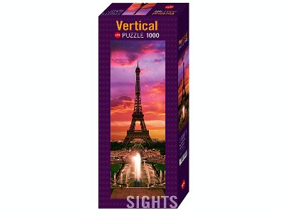 SIGHTS, PARIS 1000pc *Vertical