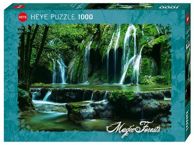 MAGIC FORESTS, CASCADES 1000pc