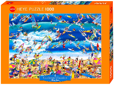 BLACHON, SURFING 1000pcs