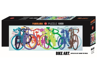 BIKE ART, COLOURFUL ROW 1000pc