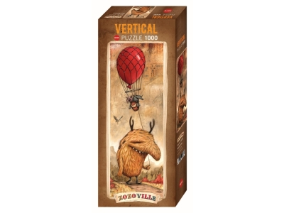 ZOZOVILLE, RED BALLOON 1000pc