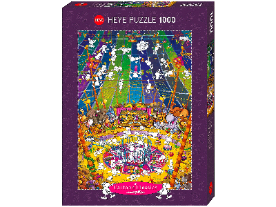 MORDILLO, CRAZY CIRCUS 1000pcs