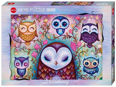 DREAMING, GREAT BIG OWL 1000pc