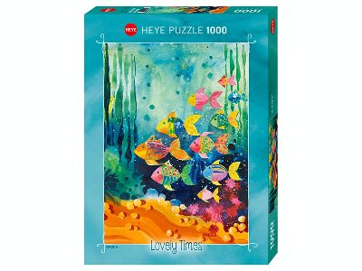 LOVELY TIMES,SHOAL FISH 1000pc