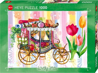 LOVELY TIMES, CARRIAGE 1000pc
