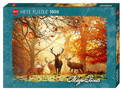 MAGIC FOREST STAGS 1000pc