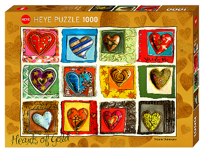 HEARTS YOU & ME 1000pc