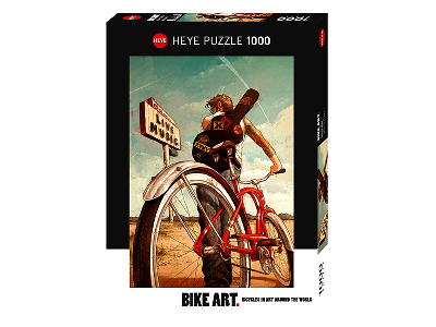 BIKE ART MUSIC RIDE 1000pc