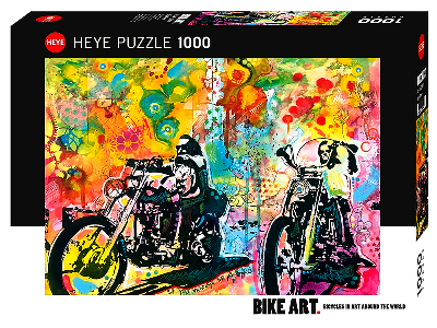 BIKE ART EASY RIDER 1000pc