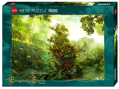 ENIGMA TREES TROPICAL 1000pc
