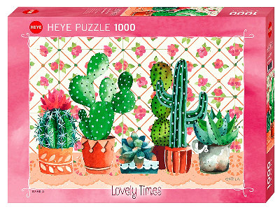 LOVELY TIMES CACTUS FAMILY
