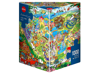 LYON FUN PARK TRIP 1000pc