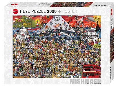 MISHMASH, BRITISH MUSIC 2000pc