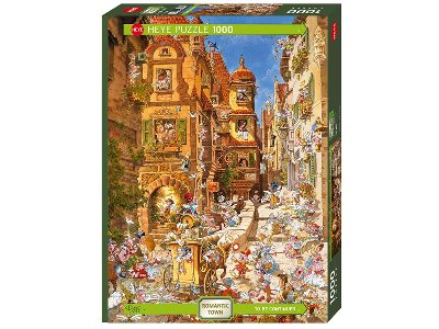 ROMANTIC TOWN, BY DAY 1000pc