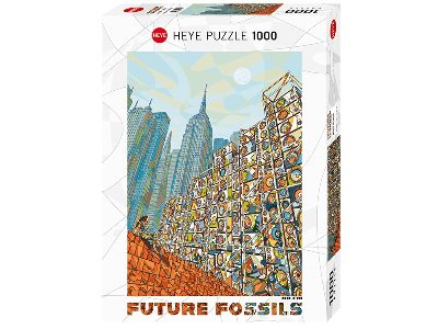 FUTURE FOSSILS,HOME MIND 1000p