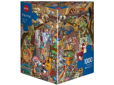 TANCK, IN THE ATTIC 1000pc