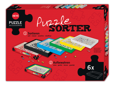 PUZZLE SORTER (Set of 6 boxes)