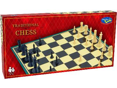 CHESS SET, SOLID PCS