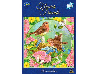 FLOWER FRIENDS ROBINS & ROSES