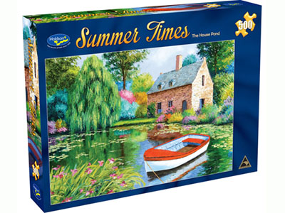 SUMMER TIMES HOUSE POND 500pc