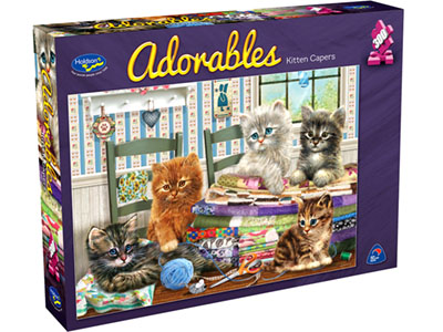 ADORABLES KITTEN CAPER 300XL