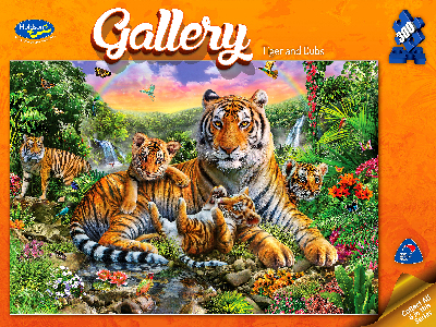 GALLERY TIGER & CUBS 300pc