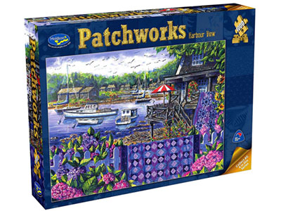PATCHWORKS HARBOUR VIEW 1000pc