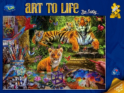 ART TO LIFE TIGER PAINTING