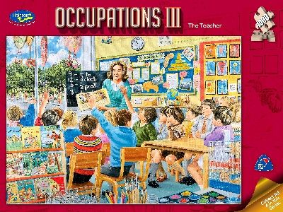OCCUPATIONS 3 THE TEACHER 1000