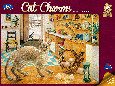 CAT CHARMS RARA KITCHEN 1000pc
