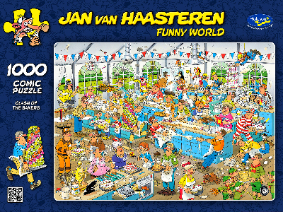 JVH FUNNY WORLD BAKERS 1000pc