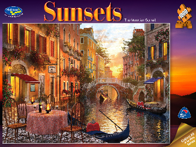 SUNSETS VENICE 1000pc