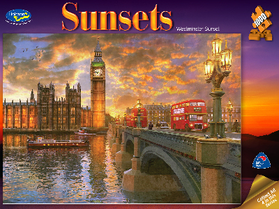 SUNSETS WESTMINSTER 1000pc