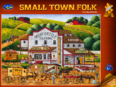 SMALL TOWN FOLK MORNING DELIVR