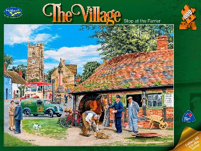 THE VILLAGE, THE FARRIER 1000p