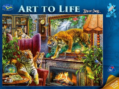 ART TO LIFE,TIGERS COMING 1000