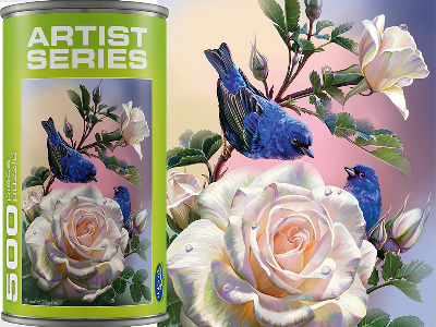 ARTIST SERIES, BIRDS 500pc
