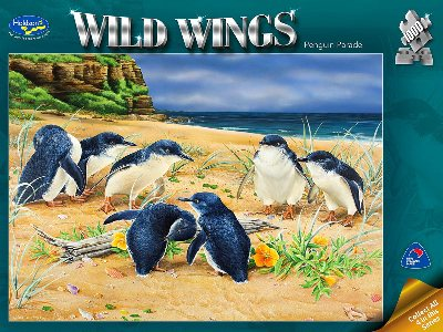 WILD WINGS,PENGUIN PARADE 1000