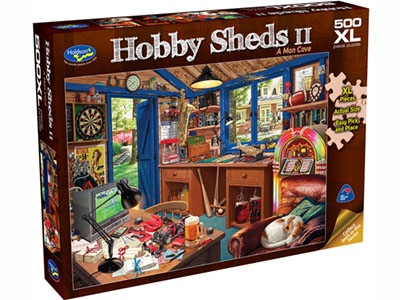 HOBBY SHEDS II,500XL MAN CAVE