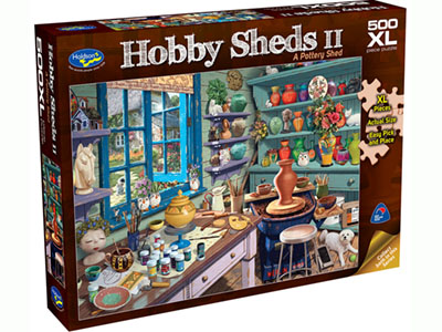 HOBBY SHEDS 500XL POTTERY SHED